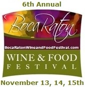 Boca Raton Wine and Food Festival 2015