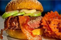 Burger Craze French Apple Angus Beer Burger