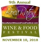 Boca Raton Wine and Food Festival 2018