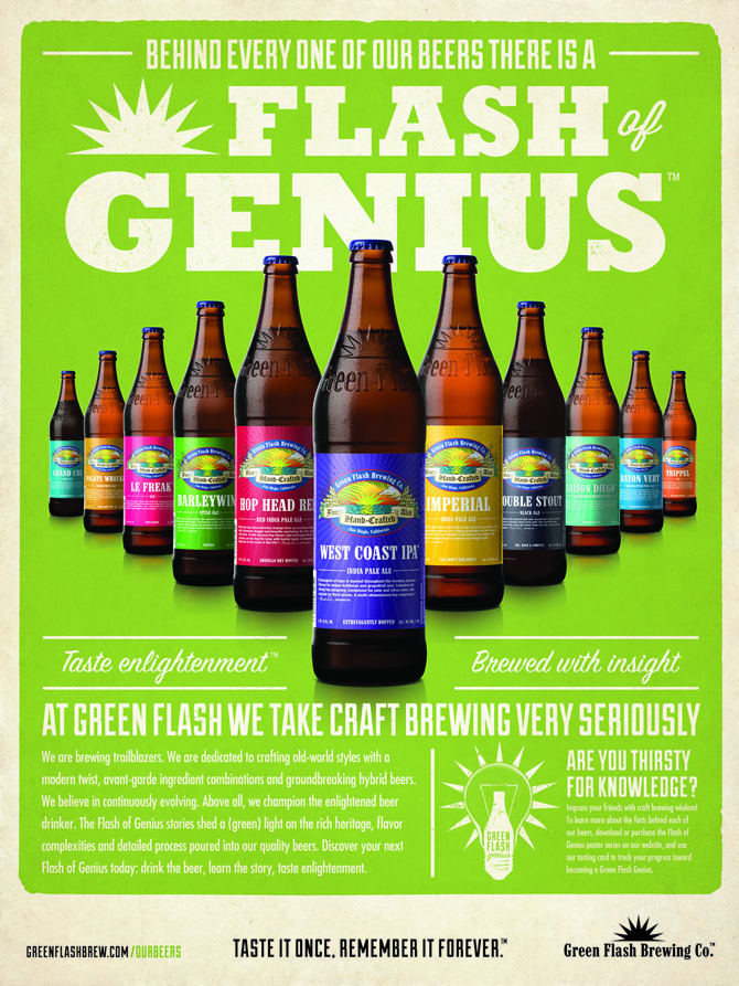Green Flash Brew Beer