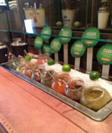 Lime Fresh Mexican Grill Salsa Bar