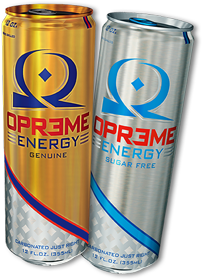 Opreme Energy Drinks