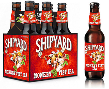 Shipyard Monkey First IPA