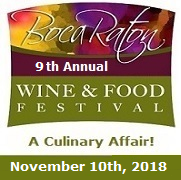 Boca Wine and Food Festival event 2018